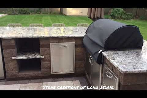 Cambridge Ledgestone XL Smooth Pool Patio – Commack, NY 11725 – Long Island Pavers and Masonry