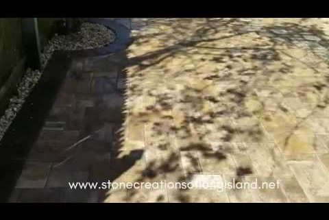 Cambridge Ledgestone Paver Patio | Lindenhurst, NY 11757 | Stone Creations of Long Island